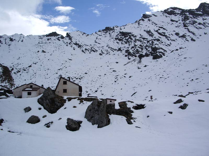 il rifugio Lago Verde 2583