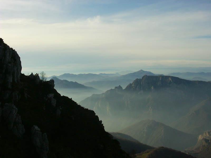 Paesaggi dalla cresta