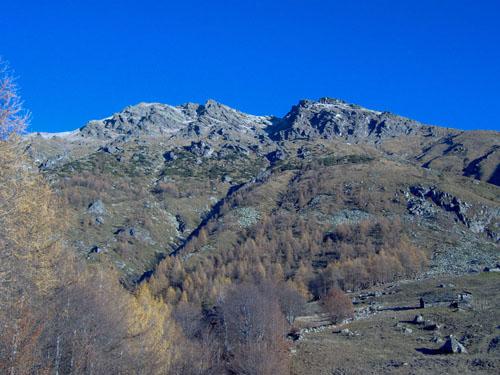 La vetta dall'Alpe dell'Attia