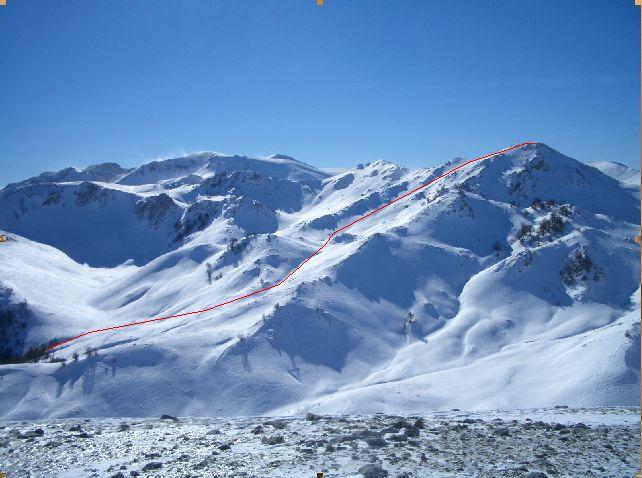 Campitello (Serra del), Q.2026 dalla Valle del Tasso 2005-01-24