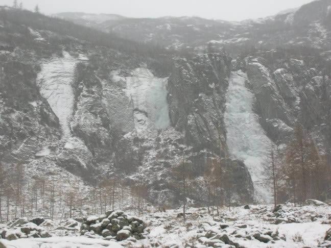 Le tre cascate nelle condizioni attuali