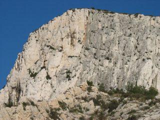 La parete della Cret St Michel
