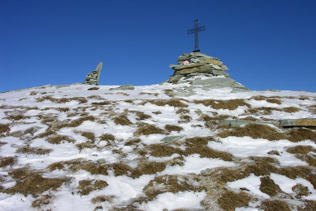 la vetta della Punta Tempesta (11-12-2005)