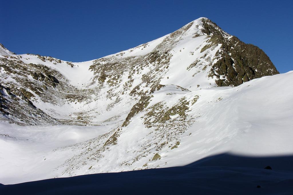 Punta della Gavia dal Vallone di Collalunga (18-12-2005)