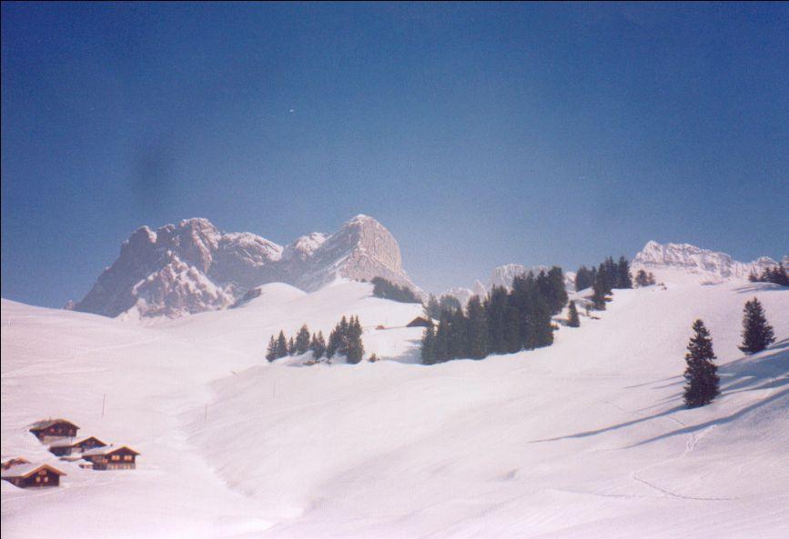 Motte (La) quota1940 m da Gryon per il versante Nord-Ovest 2005-12-28