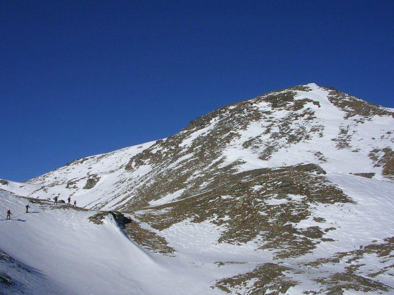 Al Sirwoltensattel, lo spelato versante sud del Galehorn