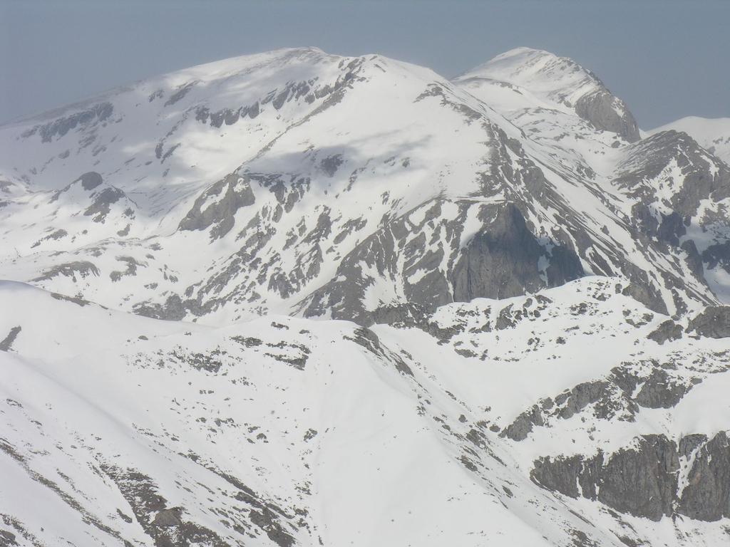 panorami dalla cima : Cima Pian Ballaur e Cima delle Saline (12-3-2006)