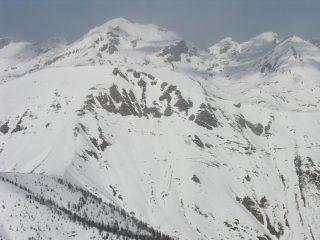 panorami dalla cima : il Gruppo del Marguareis (12-3-2006)