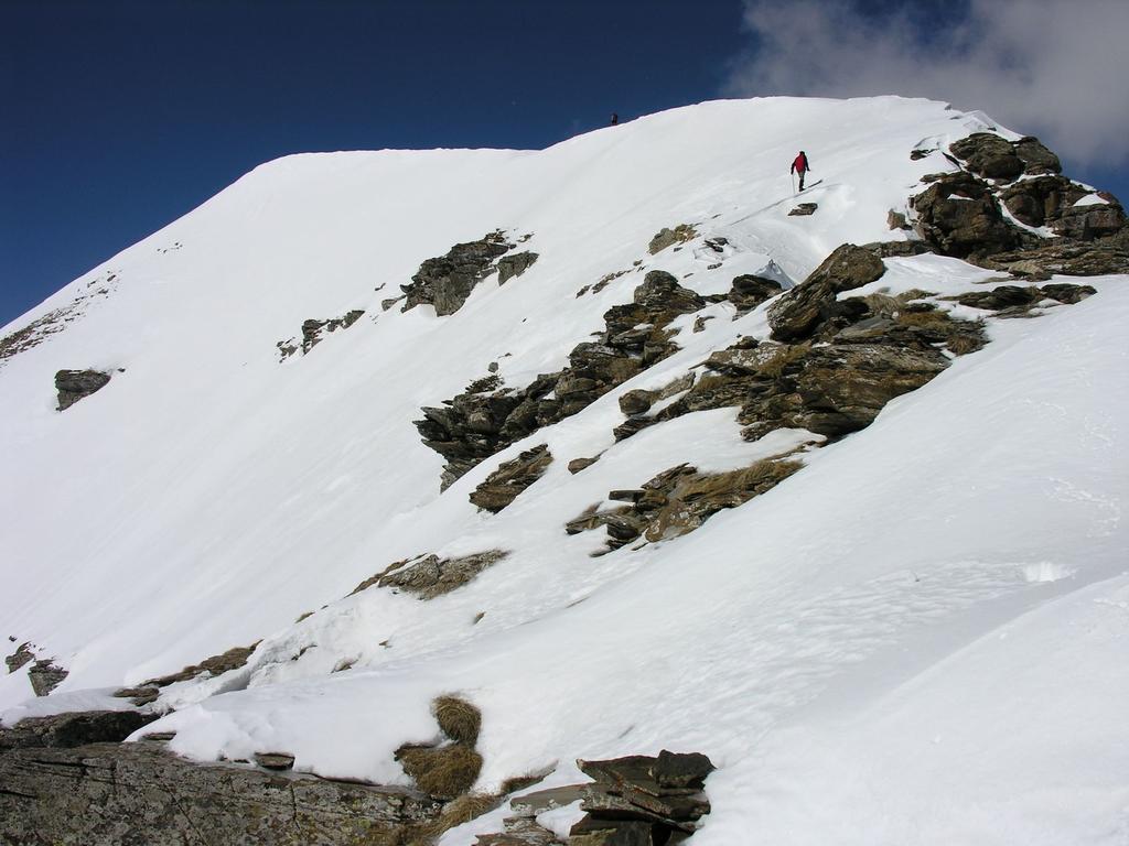 la cima del Bertrand si avvicina..! (12-3-2006)