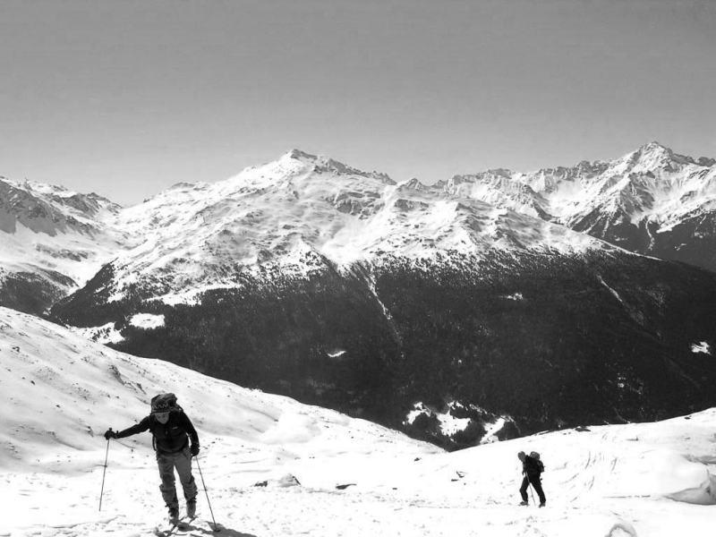 Salendo al Monte Forcellino