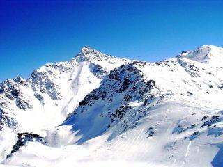 Il Confinale visto dalla cima del Forcellino