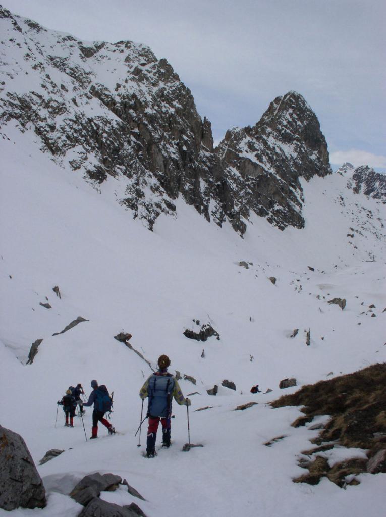 versante nord Becco Grande e Rocca la Meja