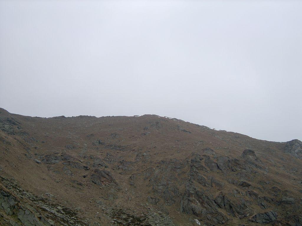 La cresta di Rocce Bianche