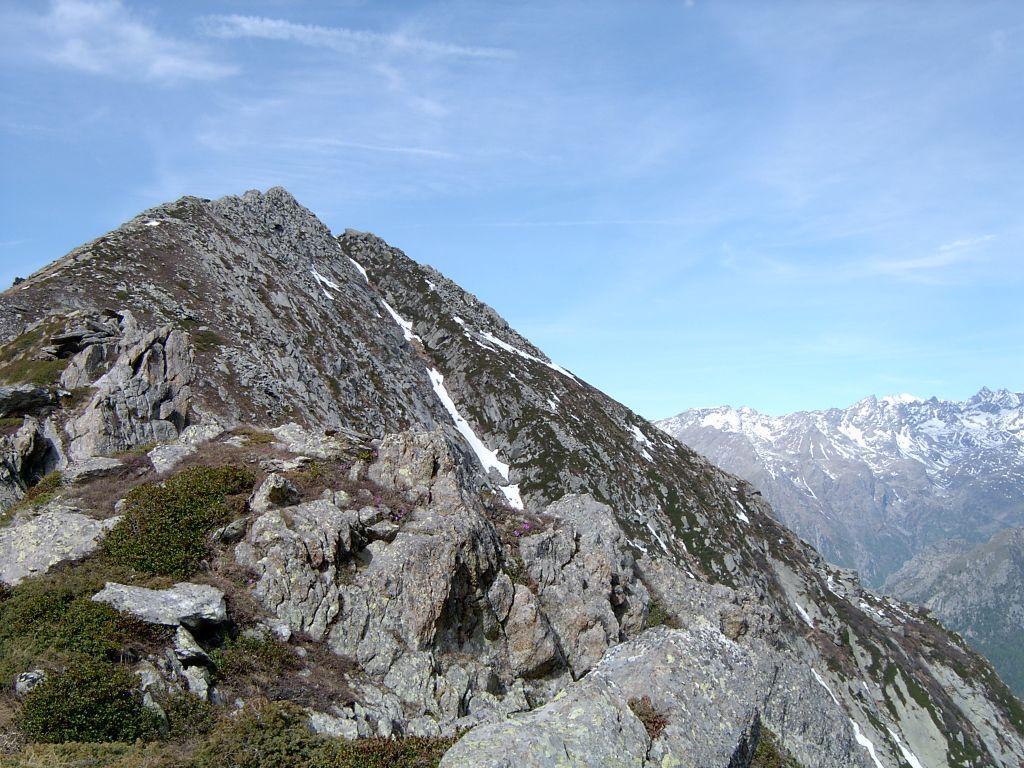 La cresta N-E del Monte Canaussa