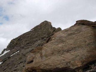 La Pointe du Montet dalla cresta