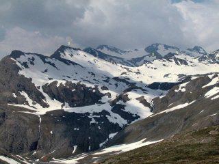 1: pont de la neige 2: Ouille de Trètetes 3: P. Sud de Bézin 4: P. Nord de Bézin