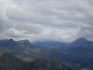 Nubi sul Monviso