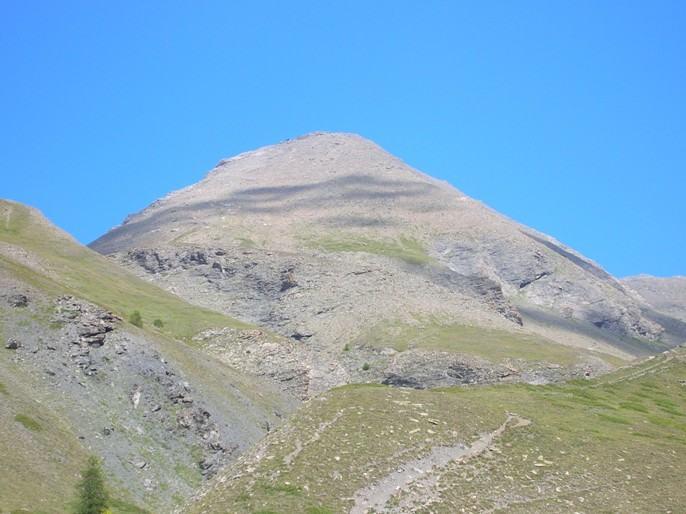 Il Monte Giornalet dal vallone Colombera