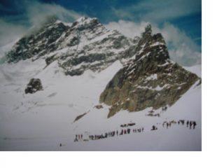 Lo Jungfraujoch sembra un luna park...