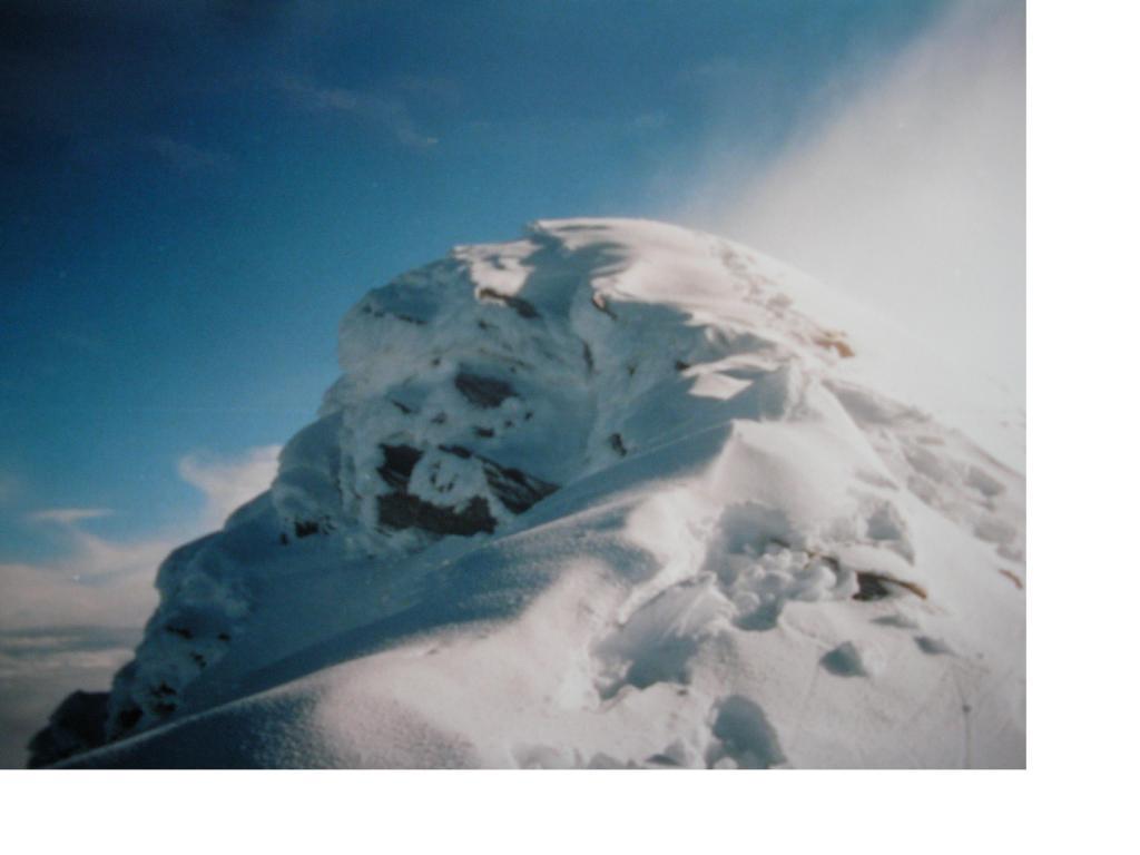 La vetta dello Jungfrau...