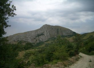 Panorama della Queglia da Nord-Ovest