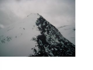 La Bec de Suessaz e la piatta Nantcruit dal Col Vaudet