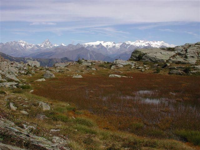 Cervino e Monte Rosa dal Lac Couvert