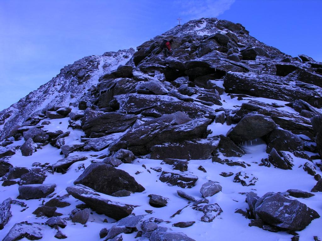 salendo verso il Monte Vioz (27-8-2006)
