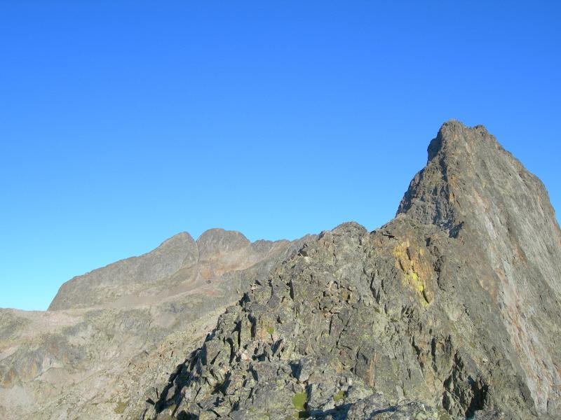 La cresta della Maledìa ed il Gelàs sullo sfondo