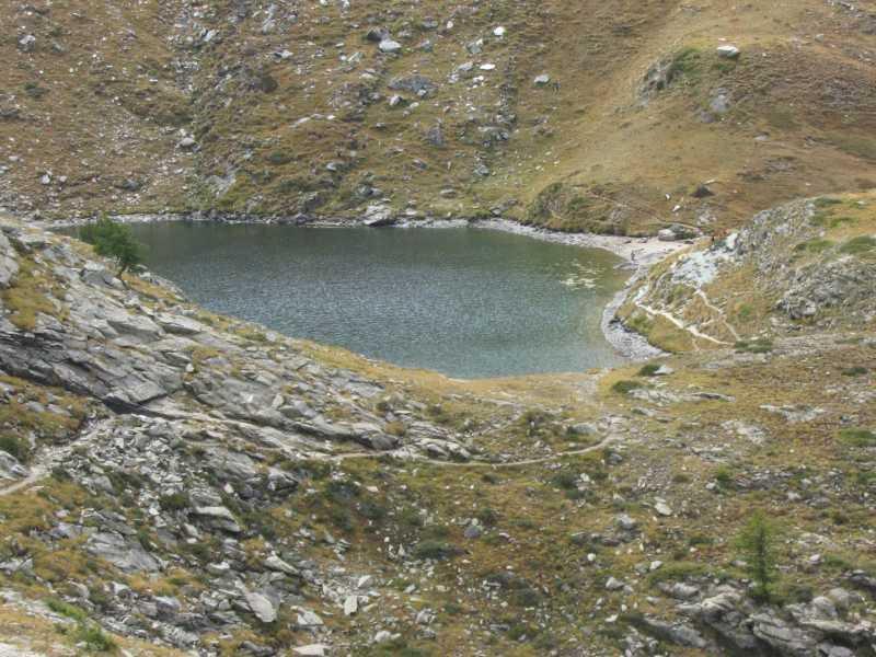 Il lago Loie.