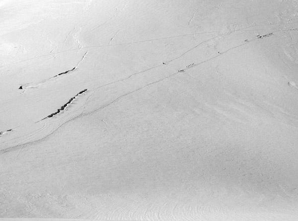 Cordate e crepacci sul Plateau del Breithorn