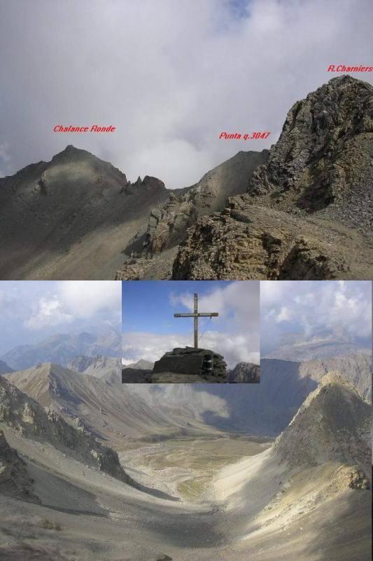 1 le tre punte 2 l'Opon e la croce della Chalance Ronde