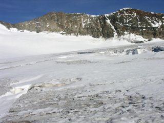 il Monte Bellavista osservato dal Passo del Sasso Rosso (10-9-2006)