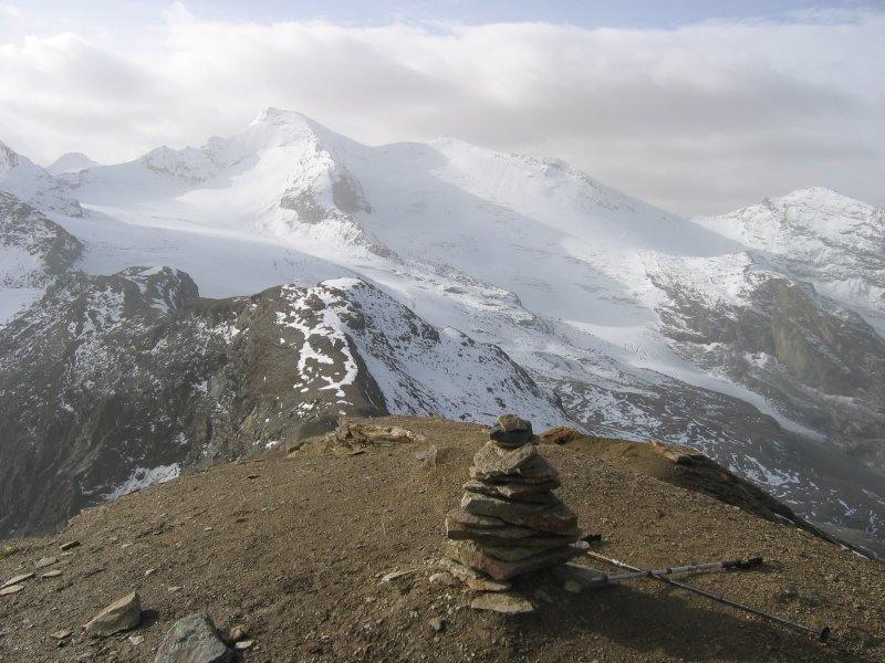 Panorama dalla Cima del Gran Cocor, verso l' Aguille Rousse