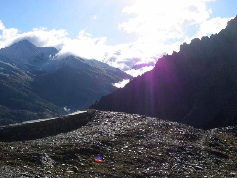 Panorama verso la valle Argentiera