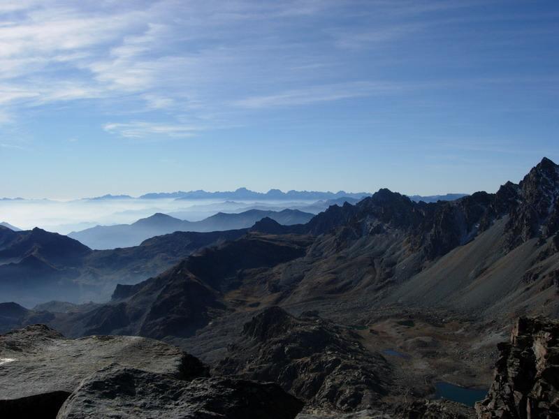Le Alpi Marittime dalla cima
