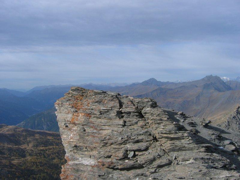 Dal Gran Queyron, panorama verso il parco del Queyras