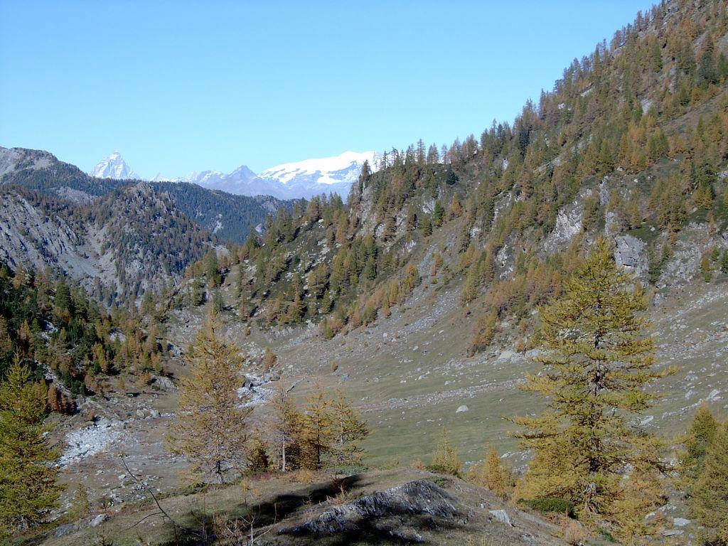 Panorama sulla media Valle della Legna