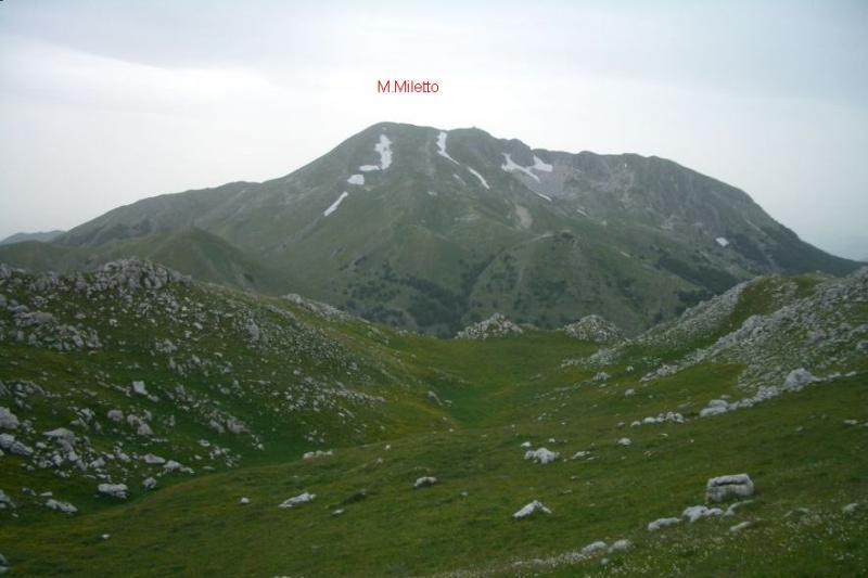 Miletto (Monte) da Campitello Matese 2006-10-17