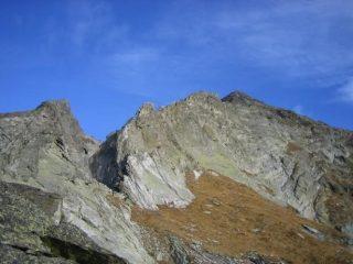Cresta Sud dall'alpe vlou superiore