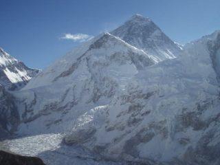 Everest, colle Sud, Nuptse e ghiacciaio Khumbu