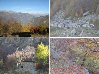 Cappella di Verale, Villaggio di La Cou, Mulattiera, Panorame dalla Cima