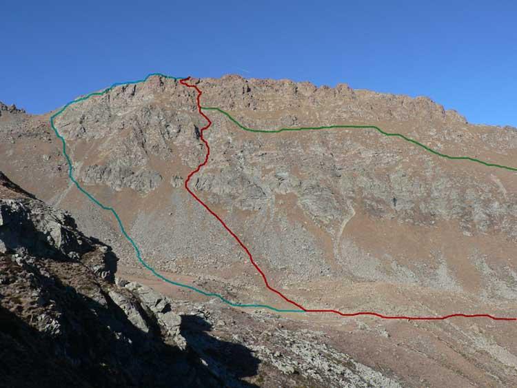 Pian Real (Monte) da Molè per il vallone Ricciavrè 2006-11-03