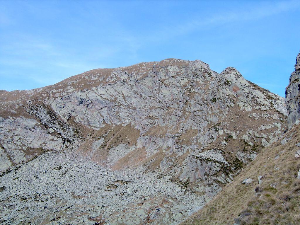 Cima Lasrubbia, vista dall'Alpe Munt