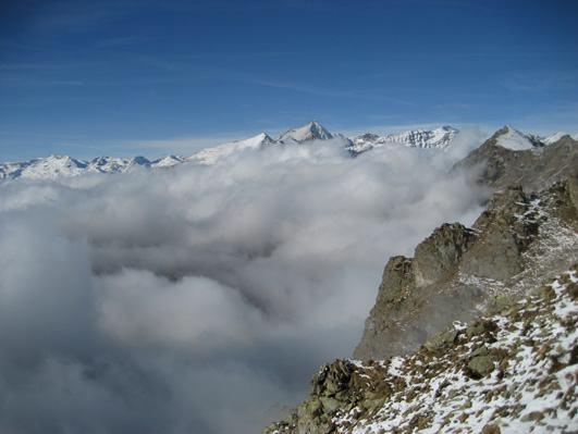 panorama verso il Rocciamelone