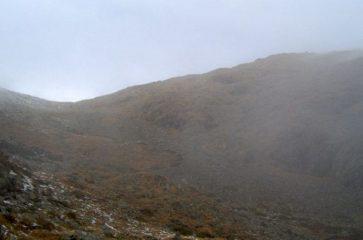 La nebbia stà arrivando...