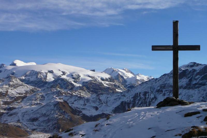 in vetta al Mt. Pancherot
