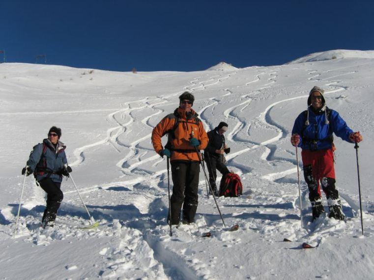 i plateau a 2400 m circa