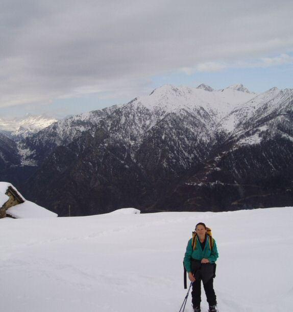 Sosta all'Alpe Leretta