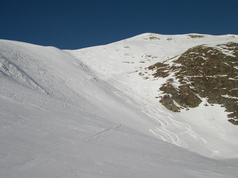 Valcervia (Passo) da Foppolo per il Lago Moro 2006-12-23